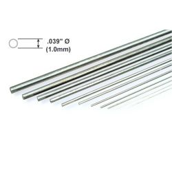 "Metal Rod K&S Piano Wire .039 x 36""/0.99 x 914mm"