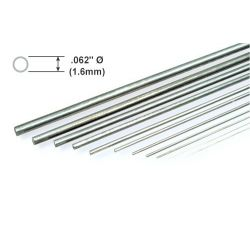 "Metal Rod K&S Piano Wire .062 x 36""/1.57 x 914mm"