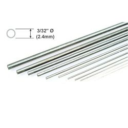 "Metal Rod K&S Piano Wire 3/32 x 36""/2.38 x 914mm"