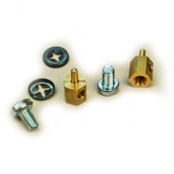 SLEC Sl63 P/Rod Connector Brass (2x10)