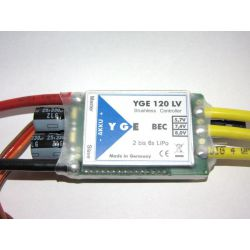 YGE 120A Brushless Speed Controller V4 NEW!!!