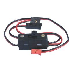 Futaba Heavy Duty Switch With Charge Lead