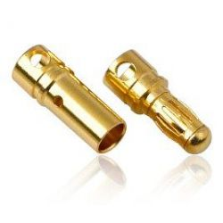 3.5mm Pair Of Bullet Connectors