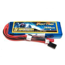 2S 7.4V 2600mAh Transmitter/Receiver LiPo
