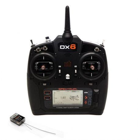 Spektrum DX6 G3 6-CH DSMX w/AR6600T