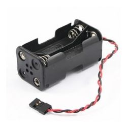 Receiver AA Battery Case With Futaba Plug
