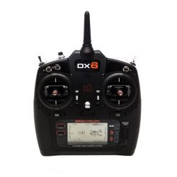 Spektrum DX6 G3 6-CH DSMX (No Receiver)