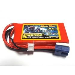 2s 7.4v 1300mAh 35c Giant Power Delta Ray