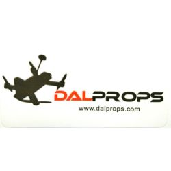 "DAL Props Sticker 3""x1.5"""