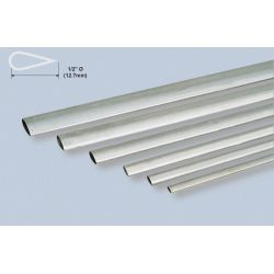 "K&S Alu Stemline Tube 1/2x35""/12.7x889mm"