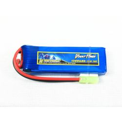 Giant Power Airsoft Gun Lipo Battery 11.1v 1300m 20c