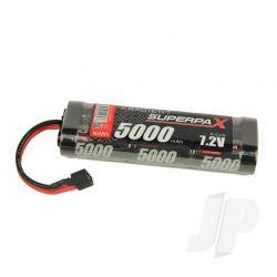 NiMH 7.2V 5000mAh SC Stick, HCT
