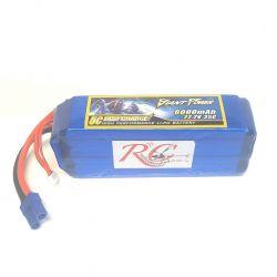 6S 6000mAh 35c GP LiPo Battery USED