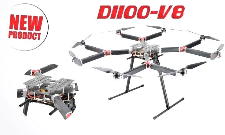 DYS D1100-V8 Y Shaped Octocopter