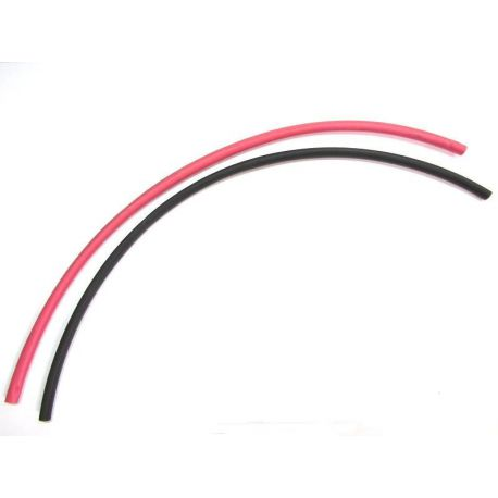 Heat Shrink 12 inch of red & black 5mm
