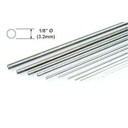 "Metal Rod K&S Piano Wire 1/8 x 36""/3.18 x 914mm"