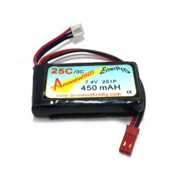 Arrowind 2S 450mAh 25C USED