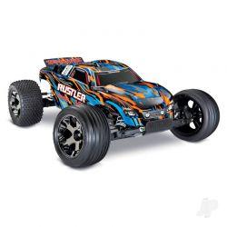 Traxxas Rustler VXL 2WD TSM (TQi/No Batt/Chg)