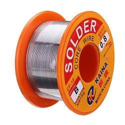 JJS 63/37 Rosin Core Solder Wire 0.8mm