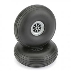 Low Bounce Treaded Wheels (89mm)