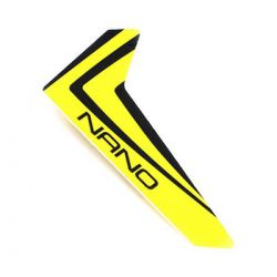 Blade NanoCPX Yellow Vertical Fin with Decal BLH3320