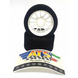 ATS On Road Front Tires 35 SH For Mugen 1/8