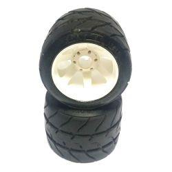 PMT Rear Rain Tires Full Treaded 1/8 USED