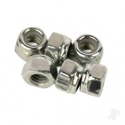Vetta Racing Nylon Lock Nut M4 (6pcs) (Karoo)