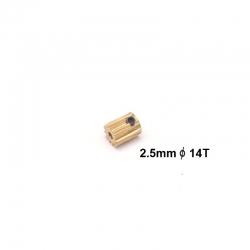 Motor Pinion 14T (2.5mm hole)
