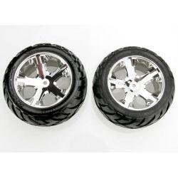 Traxxas Tires & Wheels All Star Chrome