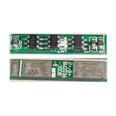 PCM for 1s 3.7V LiPo/Li-Ion Battery Packs