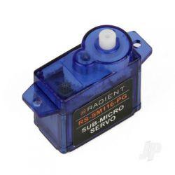 Radient RS-SM116-PG Sub-Micro 8g Analog Servo