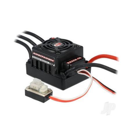 Robitronic Razer ten Brushless ESC 60A 2-3S