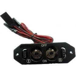 Gas Plane Switch w/ Fuel Dot & Charge Outlet
