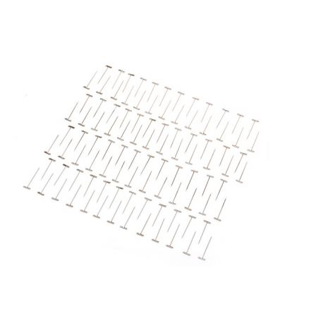 "Dubro 1.25"" 31.7mm Nickel Plated T-Pins"