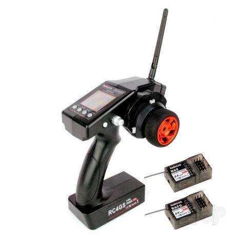 RadioLink RC4GS 2.4G 4ch Tx w/ R6FG & R6F Rx