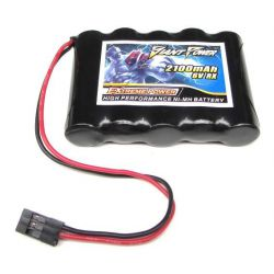 6V 2100mAh Low Self Discharge NI-MH RX PK