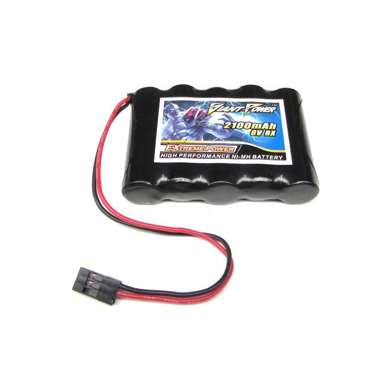 giant power low self discharge ni mh receiver battery rh radiocontrolledshop ie Servo and Battery Pack RC Airplane Receiver Batteries