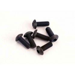 Traxxas Button-Head Screws 3x8mm (6)