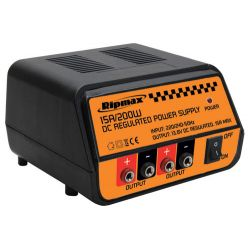 Dual Output Power Supply 13.8v 15A 200W