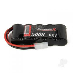 NiMH 6.0V 5000mAh SC Flat Receiver Battery Pack
