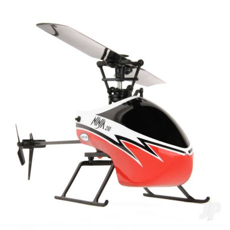 Twister Ninja 250 Helicopter with Co-Pilot Assist, 6-Axis Stabilisation and Altitude Hold