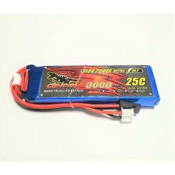Dinogy Nano Tech 7.4V 3000mAh Li-Po Frsky X9D+