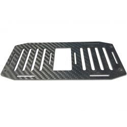 RS8-500 Octocopter CF Battery Plate 181x80x2.7mm