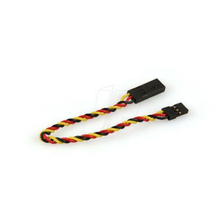 150mm Hitec Twisted HD Extension Lead 6 inch