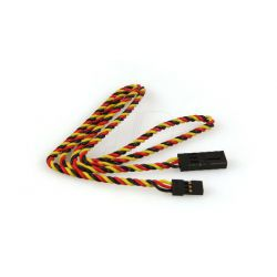 600mm Hitec Twisted HD Extension Lead 24 inch