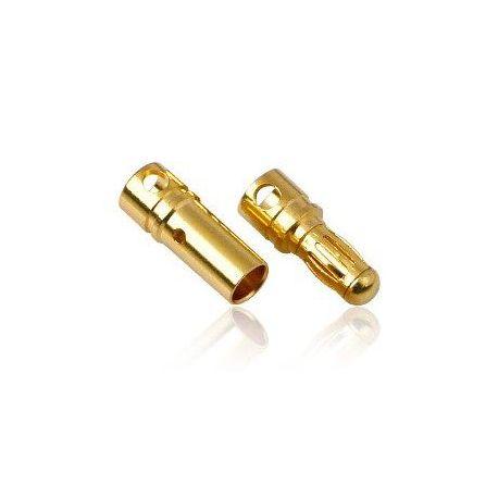 3.5mm Pair Of Bullet Connectors