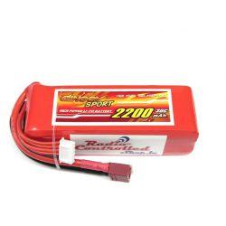 4S 14.8v 2200mAh 30c Dinogy Sport Lipo