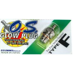 O.S. Glowplug 4 stroke Type 'F' (hot)