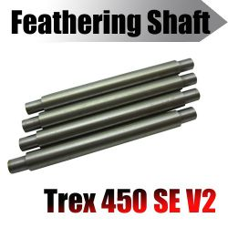 T rex 450 SE V2 feathering shaft